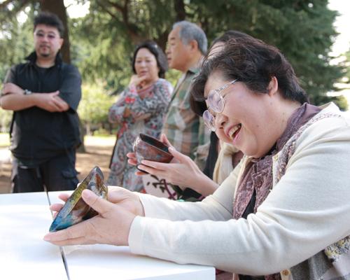 2009年 錦町公園(仙台)写真=鈴木早苗