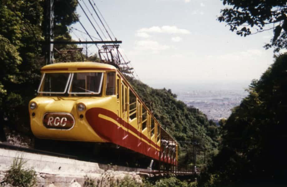 2代目ケーブルカー運行開始(昭和34年)