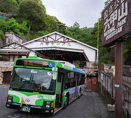 便利なバスが今年も運行始まりました!