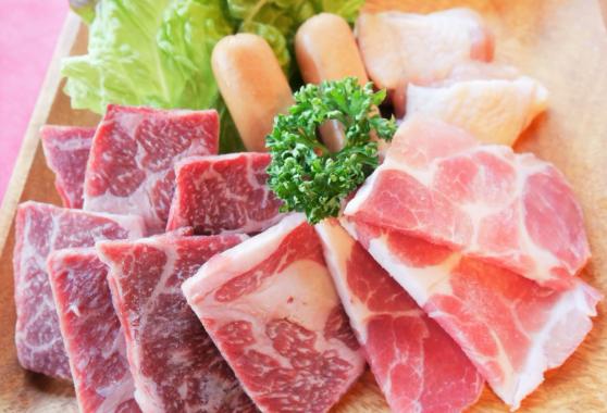 お肉4種盛り