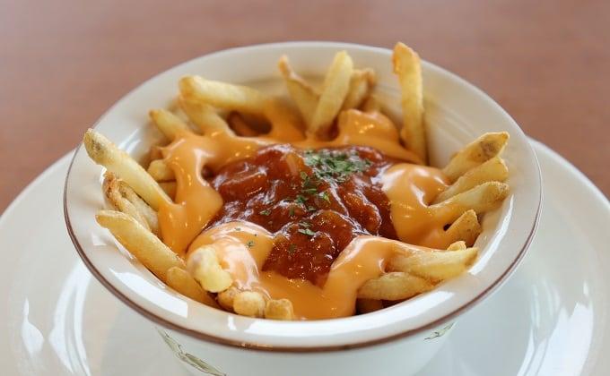 フライドポテト~ミート&チーズソース~