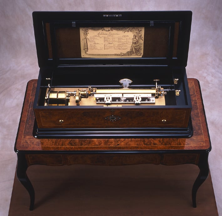 cylinder musical box Sublime Harmonie