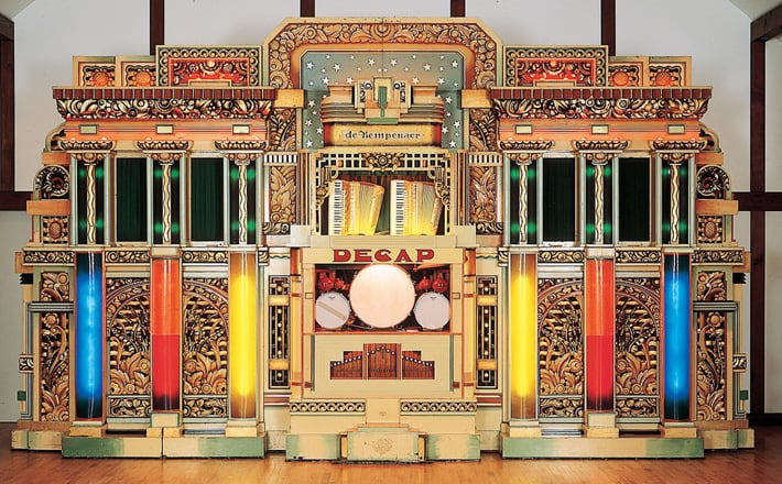 "Automatic performance organ (dance organ) decup dance organ ""Kempener"""