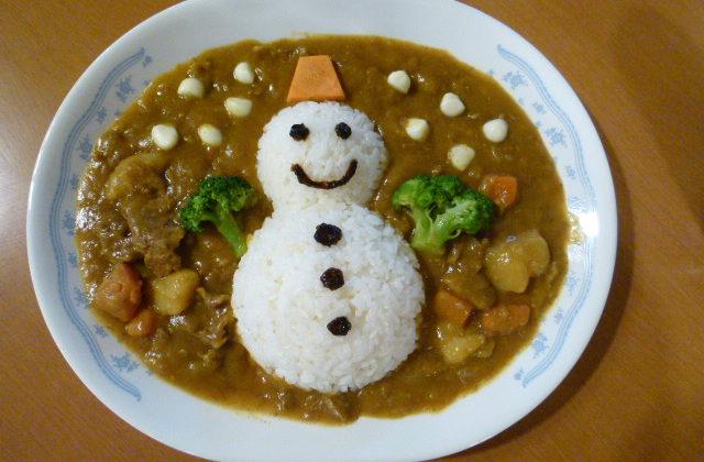 雪だるまカレー(甘口)