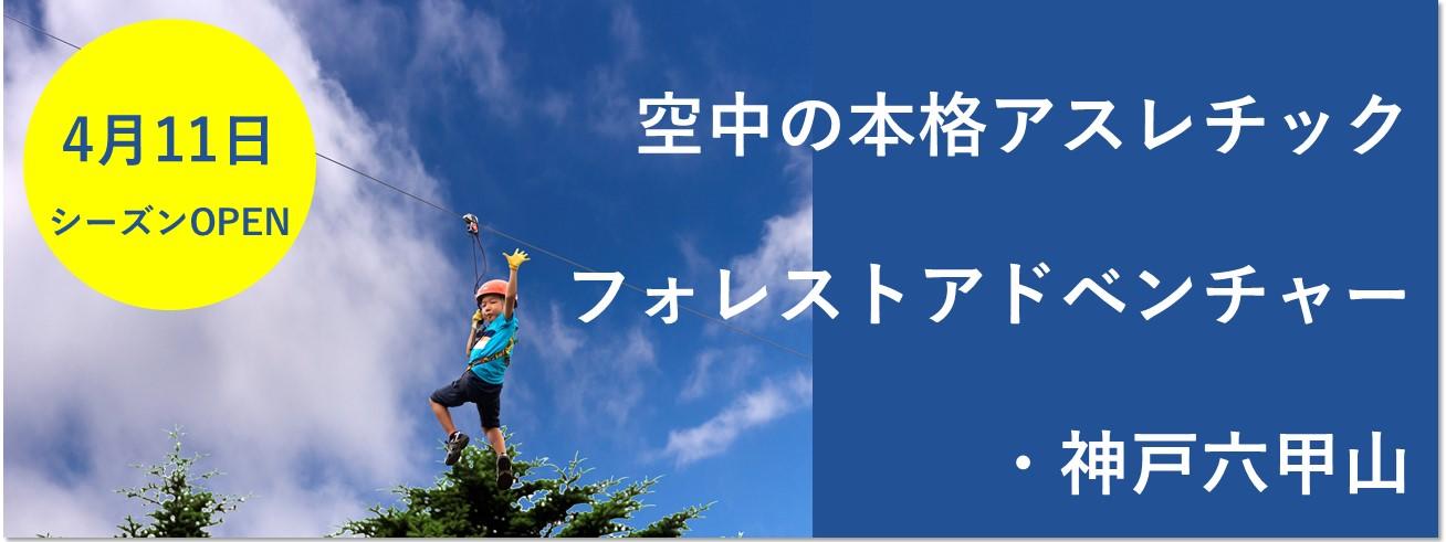 フォレストアドベンチャー・神戸六甲山