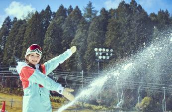 【お知らせ】10月12日(月)造雪開始!