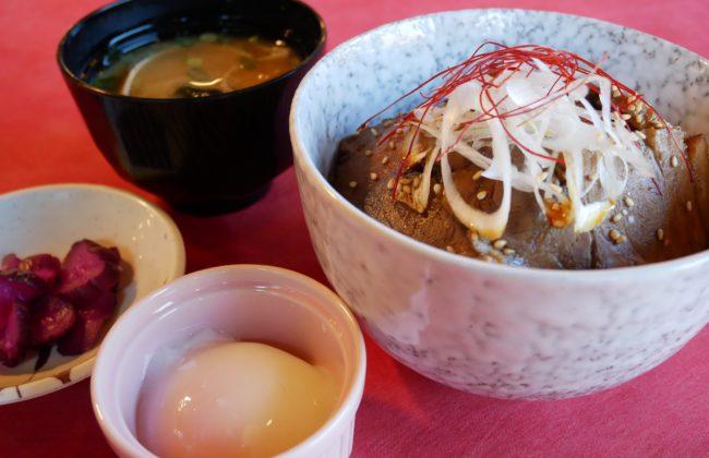 三田ポークの手づくりチャーシュー丼