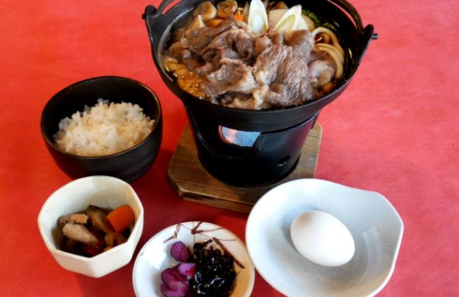 【冬限定】すき焼き風 和牛鍋膳