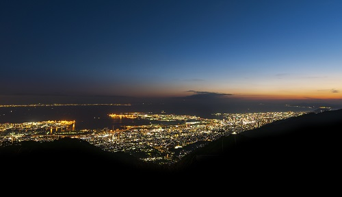 大阪のサプライズプロポーズ 六甲山