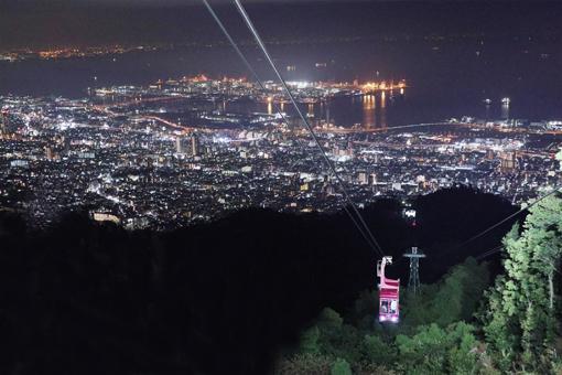 摩耶山掬星台からの夜景